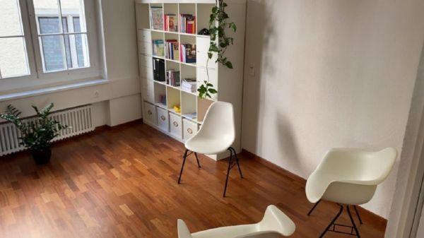 Zentrale Räume in Zürich - Sprechzimmer - ideal für Coaching, Psychotherapie, Paar- oder Sexualtherapie, Workshops